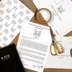 The Foxy Box Club Membership