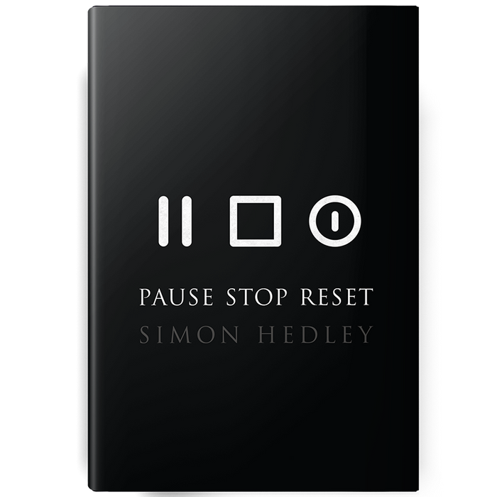 Pause Stop Reset Book by Simon Hedley - VIP Special Offer