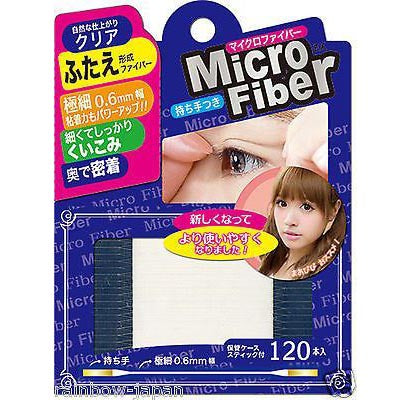 Micro Fiber 0.6mm Double Eyelid Tape (120pcs)