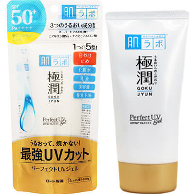 Gokujyun Perfect UV Gel SPF50+ PA++++