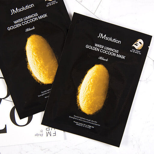 Water Luminous Golden Cocoon Mask Black
