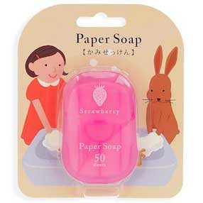 Paper Soap (Strawberry)