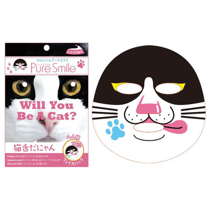 Cat Art Mask (Box of 4)