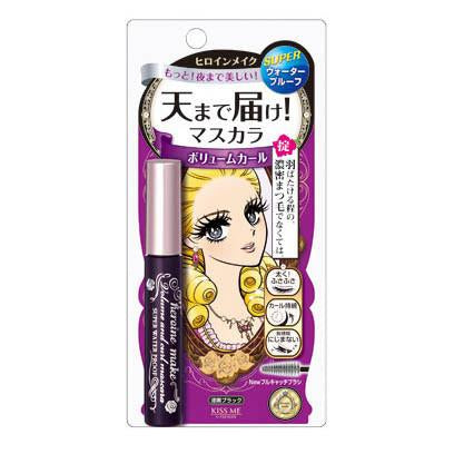 Heroine Make Volume and Curl Super Water Proof Mascara
