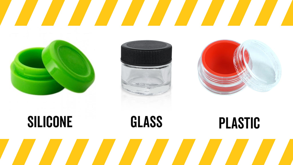 types of dab containers