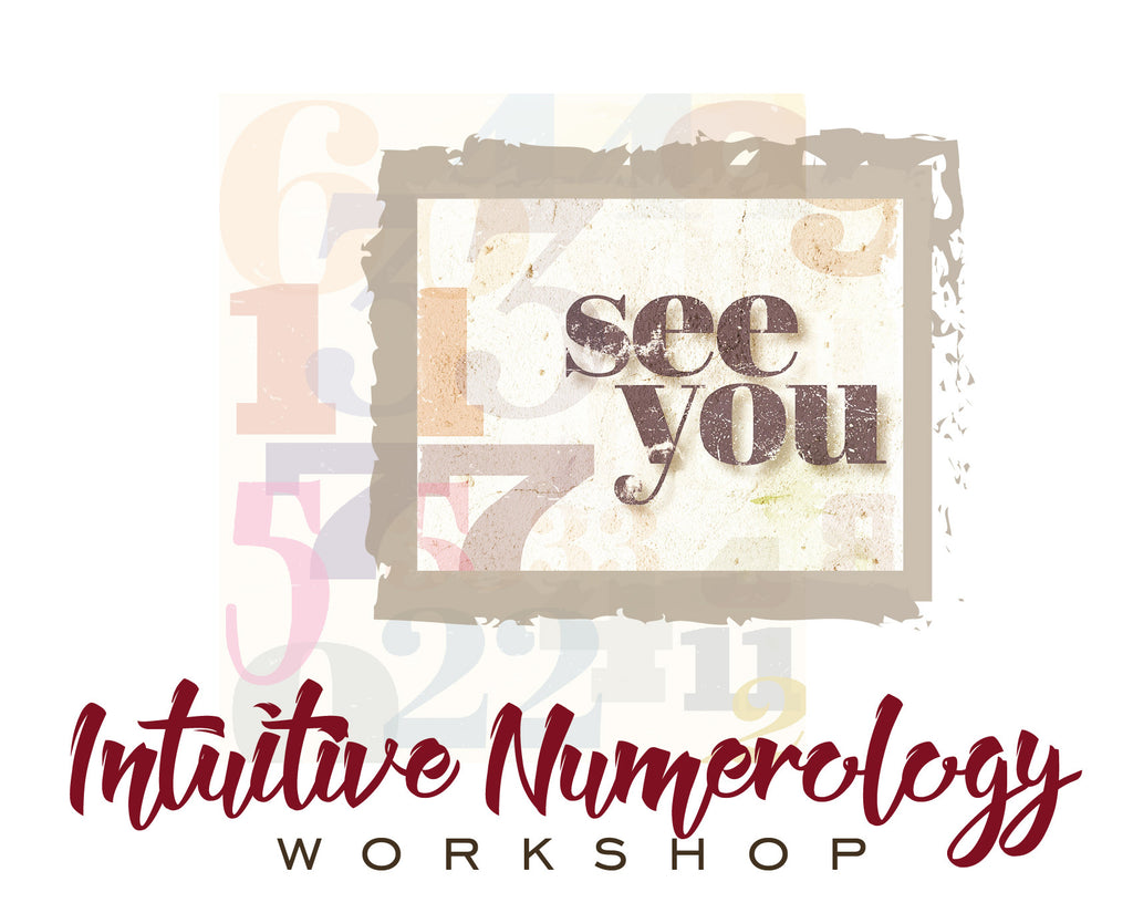 Numerology Workshop Tomorrow 1/16