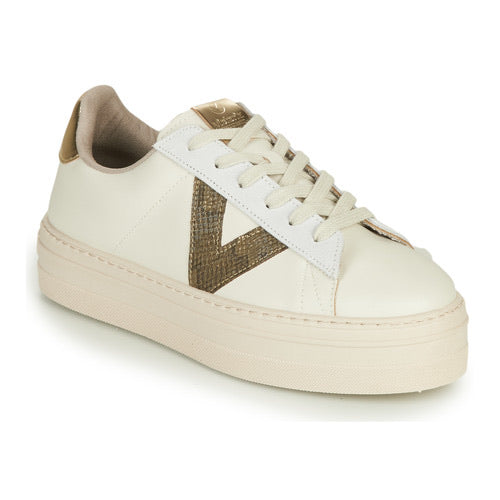 Barcelona Sneaker - Ivory Leather