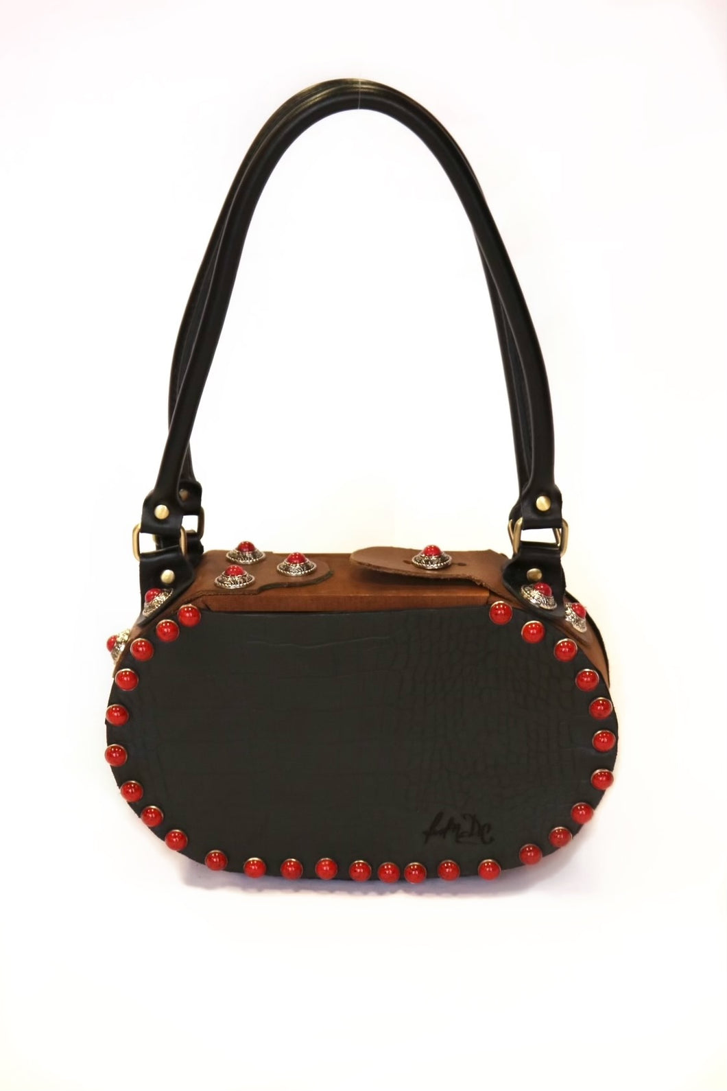 Grommet Shoulder Bag
