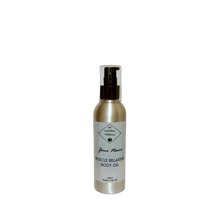 Load image into Gallery viewer, Personalised Muscle Relaxing Body Oil with Arnica & Hemp (125ml)