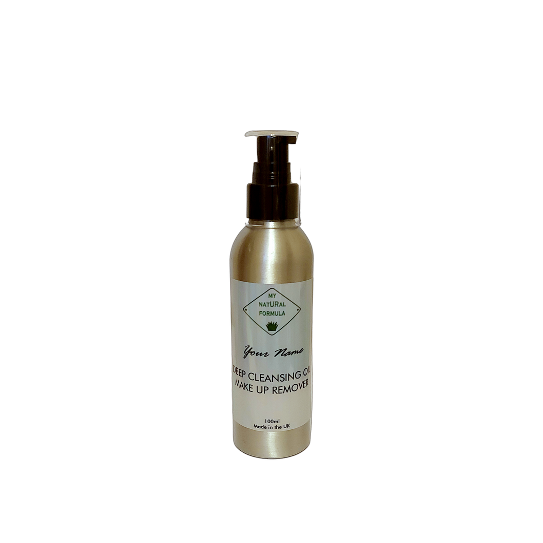 My Natural Formula Personalised Deep Cleansing Oil Make Up Remover (125ml)