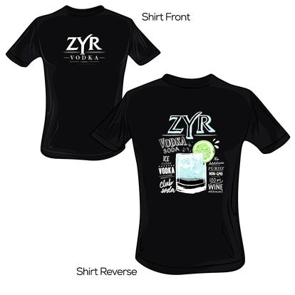 Zyr Vodka Soda Tee