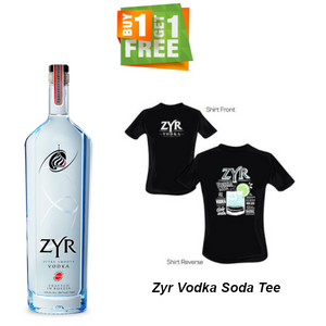Zyr Vodka 750ml (With Free Gift)