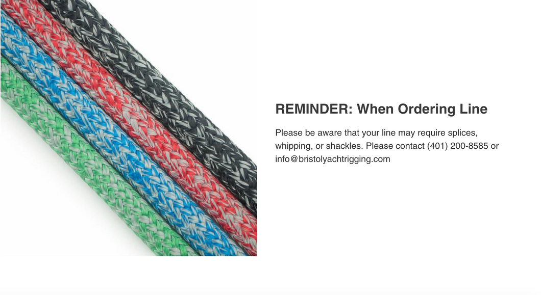 New England Ropes - Endura Braid Dyneema Double Braid in Euro Colors, Sold by the Foot