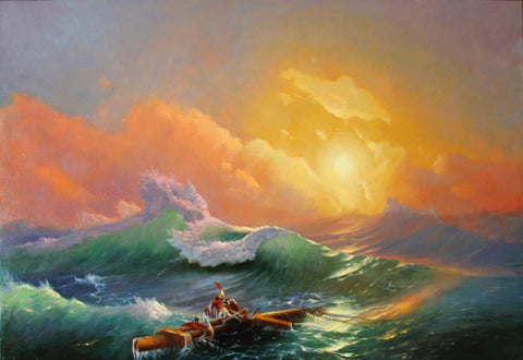 Painting by Aivazovsky