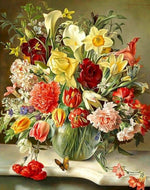 Bouquet of Flowers Painting Easy