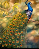 Paint by Numbers Peacock Animal Paint by Number Kits
