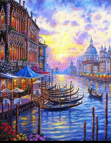 Venice Paint by Numbers City Paint by Numbers
