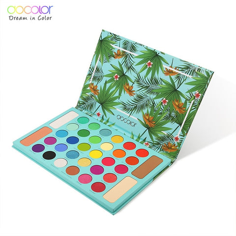 Docolor Nude Eye Shadow Palette 34 Colors Matte Shimmer - Princesas del maquillaje