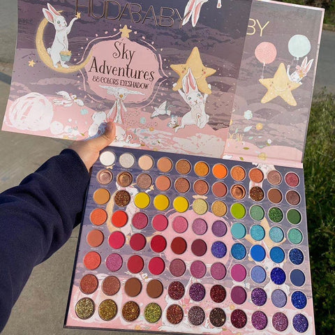 Pigmented Shadows Palette 88Colors - Princesas del maquillaje