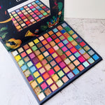 99 Colors Carnival Eyeshadow Palette Neon Pigment Matte High-gloss Eye Shadow Pearlescent Waterproof Eye Makeup Powder TSLM2 - Princesas del maquillaje