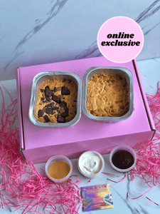 THE BAKE-AT-HOME MOLTEN COOKIE DOUGH KIT