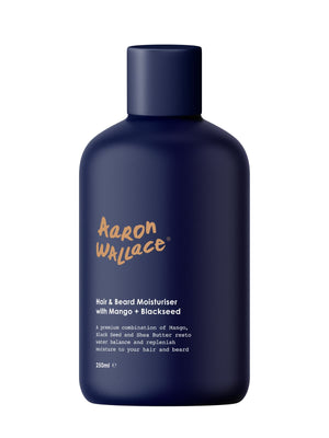 Aaron Wallace Hair & Beard Moisturiser With Mango Butter + Blackseed Oil Beauty Supply store, all natural products for men. The wh shop is the sephora for black owned brands