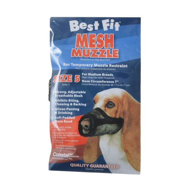 Nylon Fabridog Best Fit Muzzle Size 5 (Dogs 48-60 lbs)