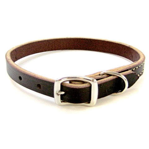 Circle T Latigo Leather Town Collar