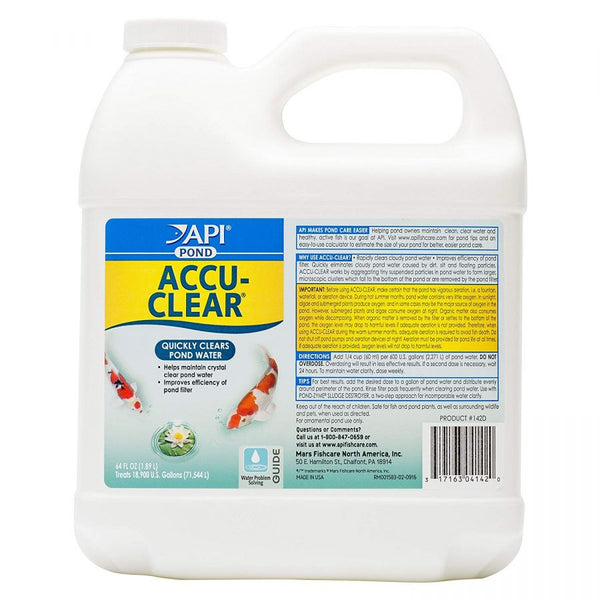 PondCare Accu-Clear Pond 64 oz (Treats 19,200 Gallons)