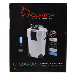 Aquatop UV Canister Filter CF Series