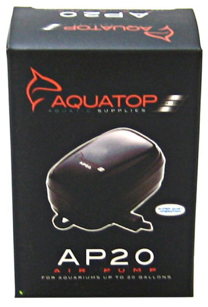 Aquatop Aquarium Air Pump AP20 Air Pump (Aquariums up to 40 Gallons)