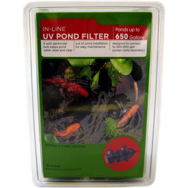 Beckett In-Line UV Pond Filter