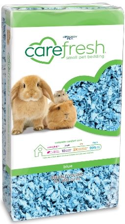 CareFresh Colors Pet Bedding - Blue 10 Liters