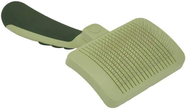 "Safari Self Cleaning Slicker Brush Large Dogs - 8"" Long x 4.5"" Wide"