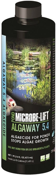 Microbe-Lift Algaway 5.4 for Ponds 16 oz (Treats 5678 Gallons)