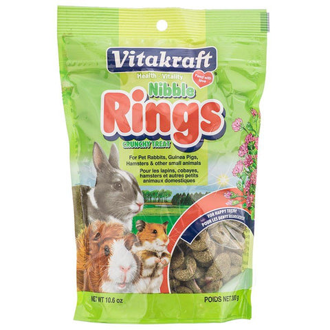 VitaKraft Nibble Rings for Small Animals 11 oz
