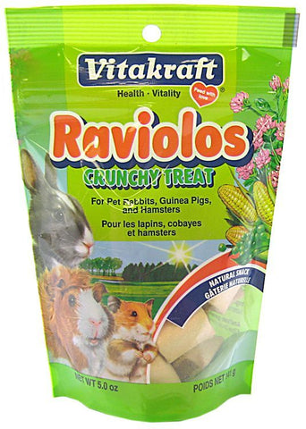 VitaKraft Raviolos Crunchy Treat for Small Animals 5 oz