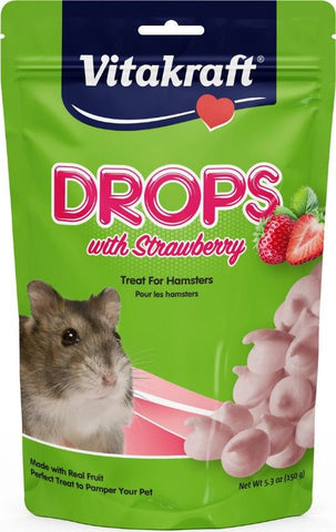VitaKraft Drops with Strawberry for Hamsters 5.3 oz