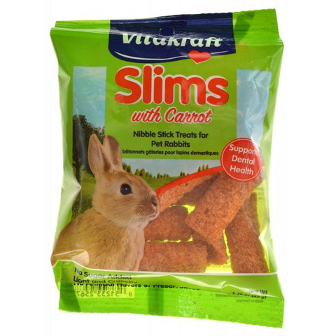 VitaKraft Slims with Carrot for Rabbits 1.76 oz