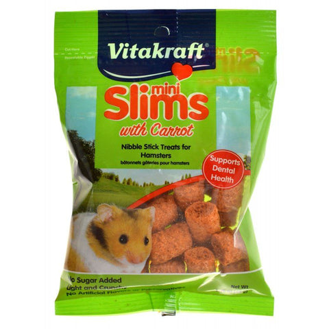 VitaKraft Slims with Carrot for Hamsters 1.76 oz