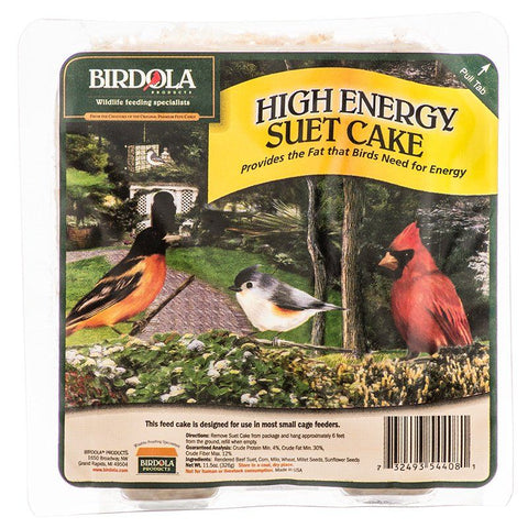 Birdola High Energy Suet Cake