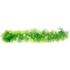 "Aquatop Fuzzy Aquarium Plant - Green 15"" Wide x 2"" High"