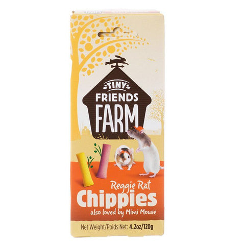Tiny Friends Farm Reggie Rat Chippies 4.2 oz