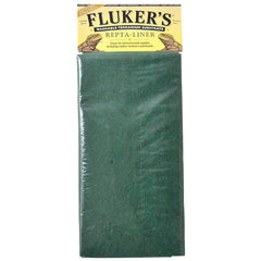 "Flukers Repta-Liner Washable Terrarium Substrate - Green Large (12""L x 30""W)"