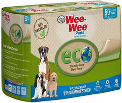 "Four Paws Wee-Wee Pads - Eco 50 Pack - (22""L x 23""W)"