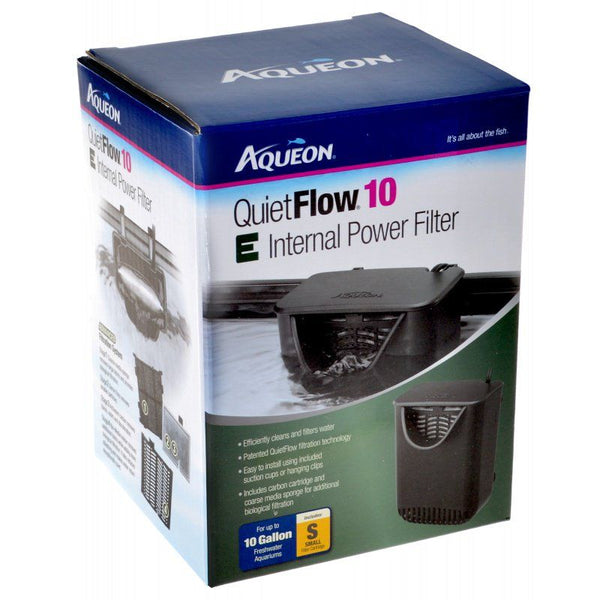 Aqueon Quietflow E Internal Power Filter 10 Gallons
