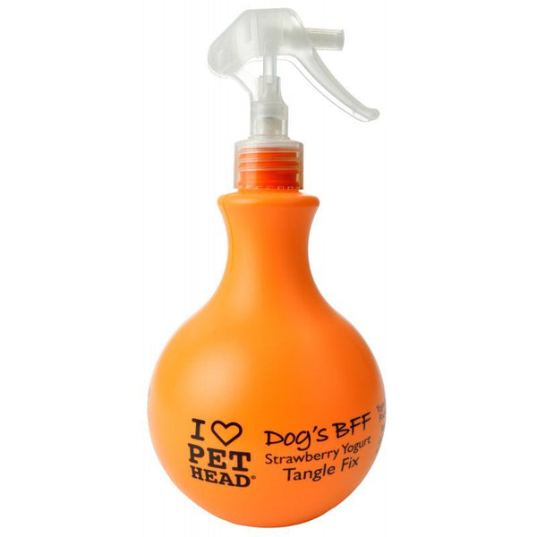 Pet Head Dog's BFF Tangle Fix Spray - Strawberry Yogurt 15.2 oz