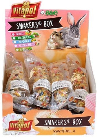 A&E Cage Company Smakers Fruit Sticks for Small Animals 12 count