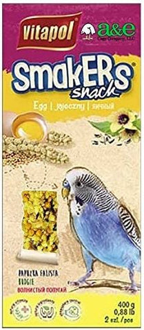 A&E Cage Company Smakers Parakeet Egg Treat Sticks 2 count