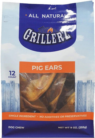 Grillerz Pig Ears Dog Treat